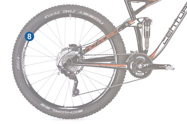 MB 0314 All-Mountains optimales Bike 8