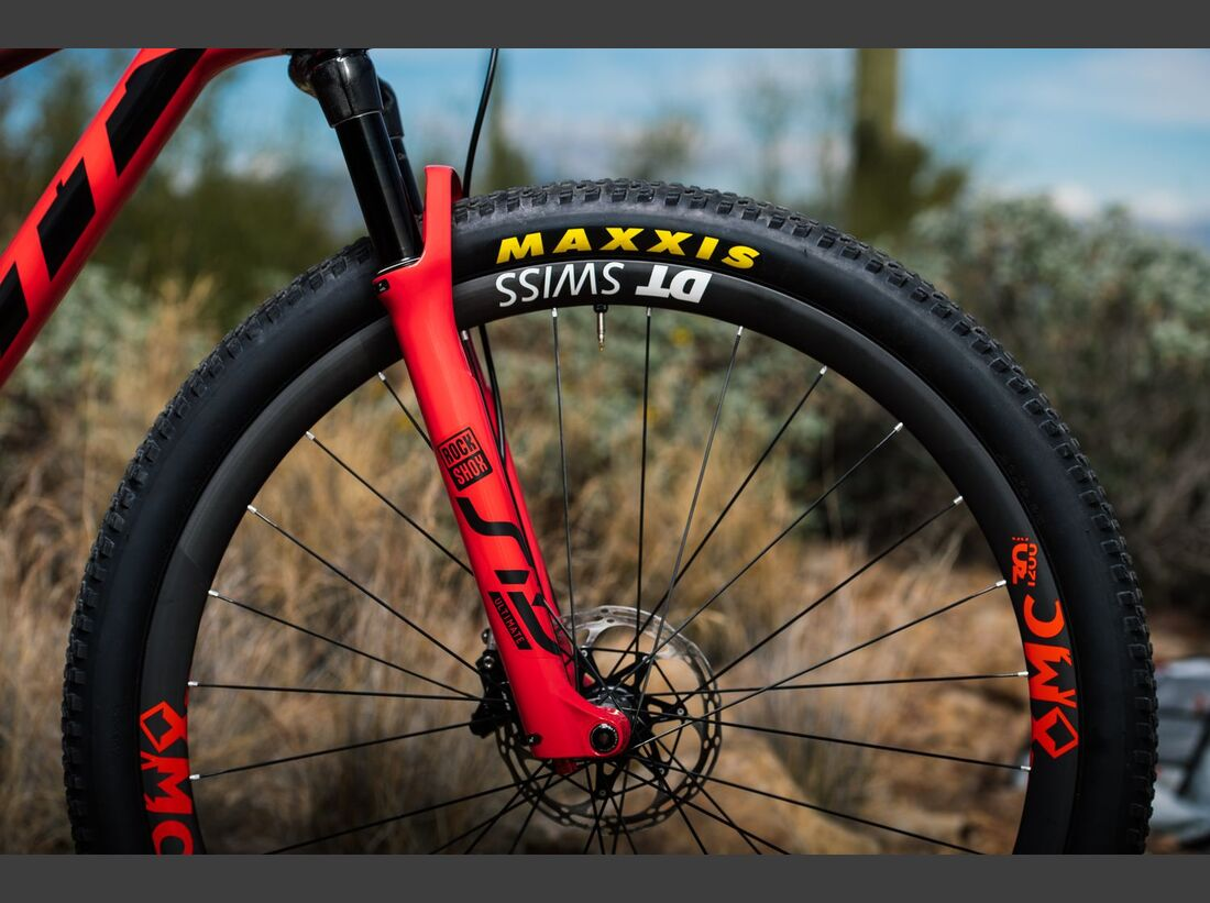 MB Scott SRAM MTB Racing Team Kate Courtney 2019 Scott Spark Bild 9
